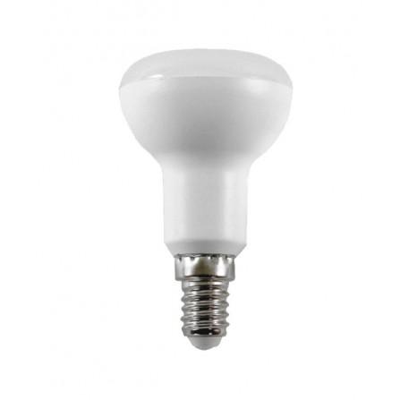 Λαμπτήρας LED E14 R50 6W 4000K (ΦΩΣ ΗΜΕΡΑΣ) 180o 480Lumens