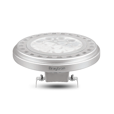 Λαμπτήρας LED AR111 G53 14W 3000K (ΘΕΡΜΟ) 30o 1055Lm