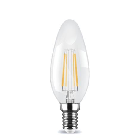 Λάμπα κεράκι LED Filament E14 2W 2700K (ΘΕΡΜΟ) C35 360o 160Lm