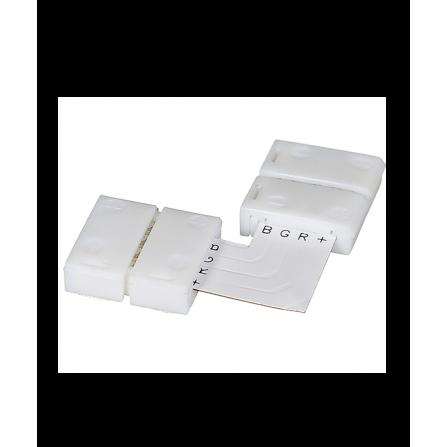 Γωνιακός σύνδεσμος για ταινία LED μονόχρωμη 12V, chip 5050-10mm