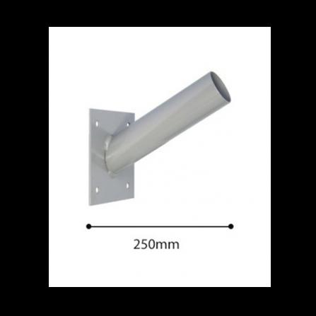 Μεταλλικός βραχίονας Φ60 βαμμένος για τοποθέτηση σε τοίχο