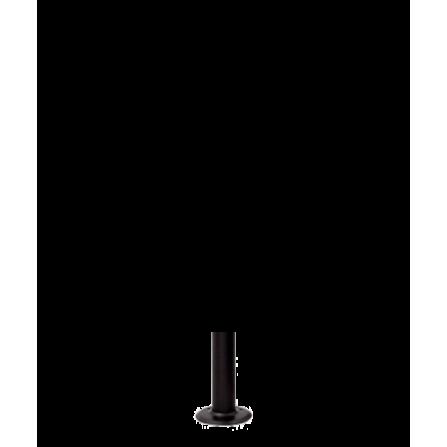 Μεταλλικός Ιστός σε μαύρο χρώμα 20εκ Φ60