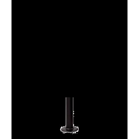 Μεταλλικός Ιστός σε μαύρο χρώμα 30εκ Φ60
