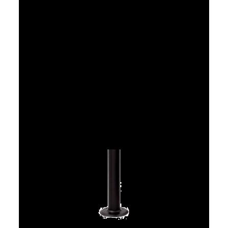 Μεταλλικός Ιστός σε μαύρο χρώμα 40εκ Φ60