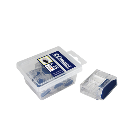 Πλαστικές κλέμες 1.0-2.5mm 25 τεμάχια πόλοι 3