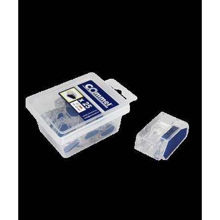 Πλαστικές κλέμες 1.0-2.5mm 25 τεμάχια πόλοι 2