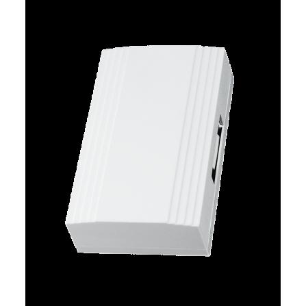 Ηλεκτρικό κουδούνι με 1 μελωδία, ένταση 70dB, τάση 110/230W, χρώμα λευκό