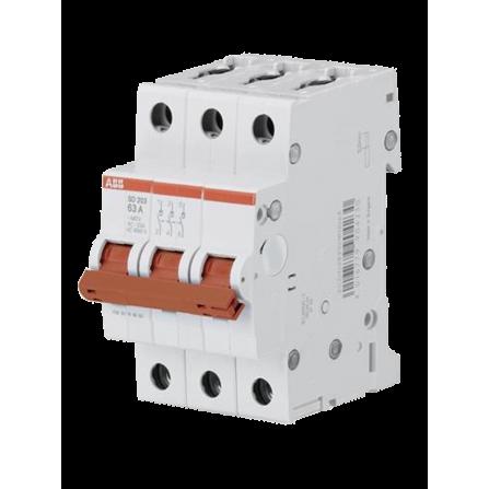 Ραγοδιακόπτης φορτίου 3P 63A SD203-63