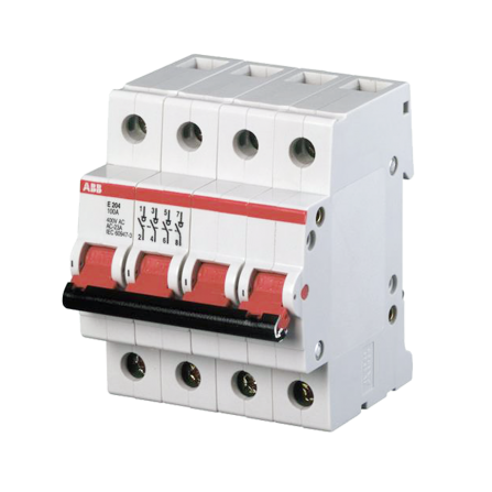Ραγοδιακόπτης φορτίου 4P 32A SD204-32