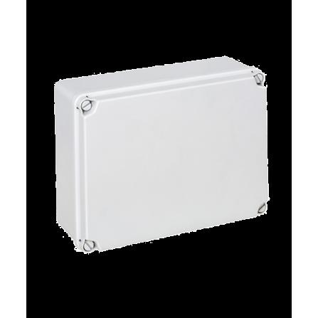 Κουτί διακλάδωσης εξωτερικό 241x180x95mm στεγανό IP54 με πλαστικές βίδες χωρίς τάπες
