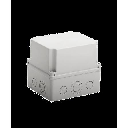 Κουτί διακλάδωσης εξωτερικό 175x151x155mm στεγανό IP54 με πλαστικές βίδες χωρίς τάπες