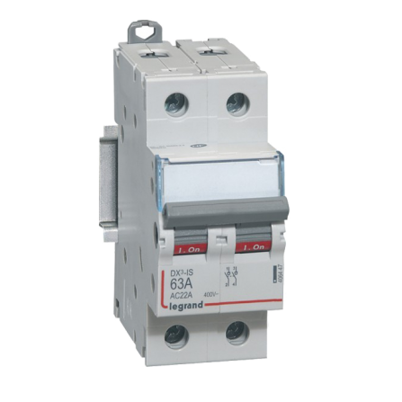 Ραγοδιακόπτης φορτίου 2P 20A DX3