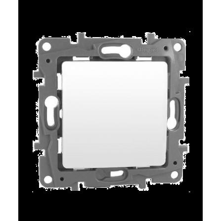 Διακόπτης Απλός 10A Λευκός LEGRAND NILOE