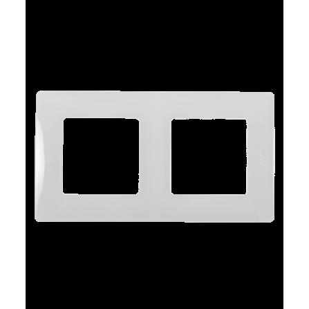 Διπλό πλαίσιο λευκό LEGRAND NILOE