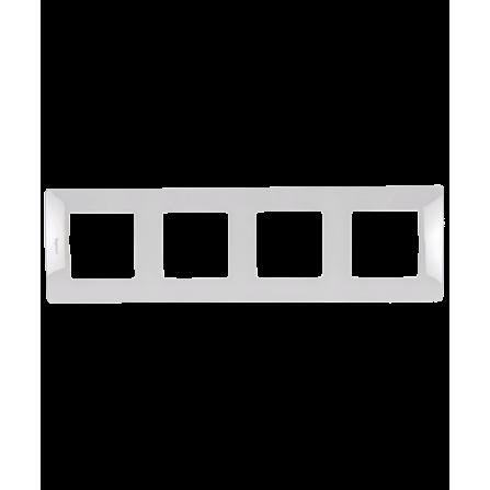 Τετραπλό πλαίσιο λευκό LEGRAND NILOE