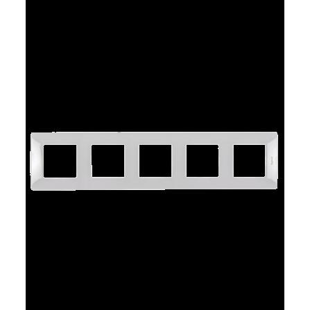 Πενταπλό πλαίσιο λευκό LEGRAND NILOE