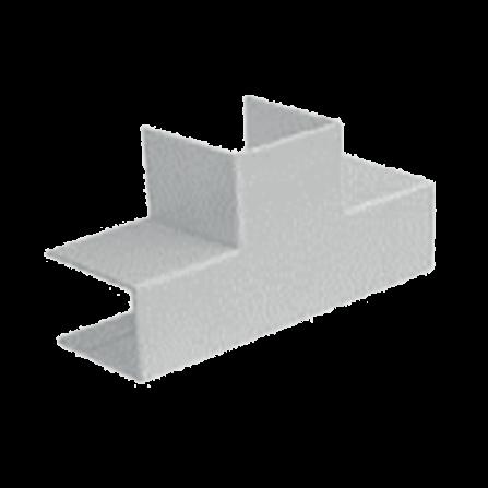 Σύνδεσμος Τ για κανάλι 100x60mm σε λευκό χρώμα