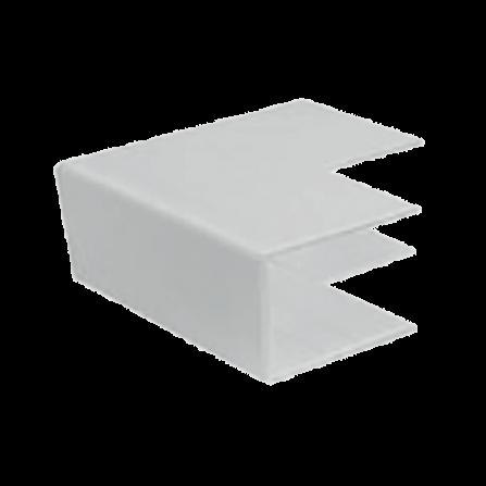 Εξωτερική γωνία για κανάλι 80x40mm σε λευκό χρώμα