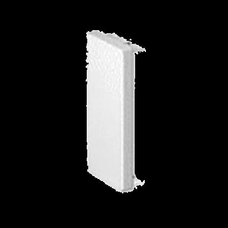 Τάπα για κανάλι 12x12mm σε λευκό χρώμα