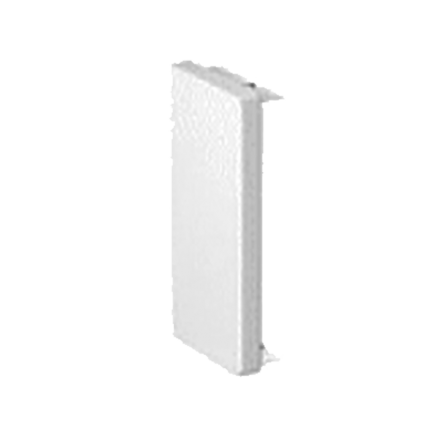 Τάπα για κανάλι 40x25mm σε λευκό χρώμα