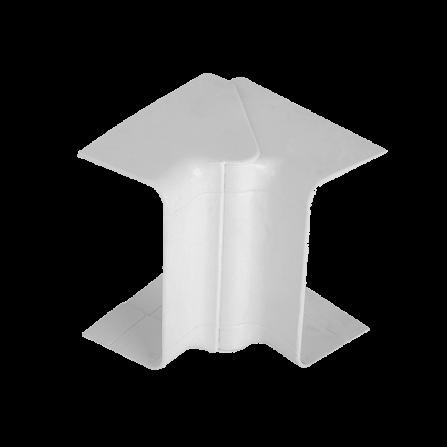 Εσωτερική γωνία για modular κανάλι 100x50 σε λευκό χρώμα
