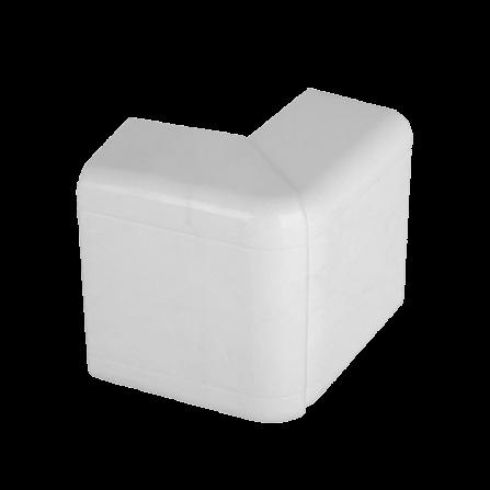 Εξωτερική γωνία για modular κανάλι 100x50 σε λευκό χρώμα