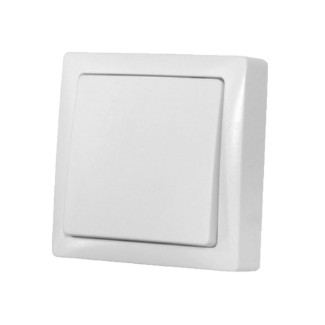 Διακόπτης Απλός Εξωτερικός 10A Λευκός IP20