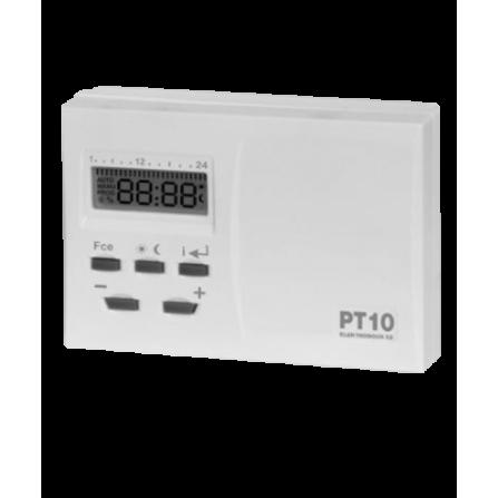 Ενσύρματος θερμοστάτης επιτοίχιος ψηφιακός μπαταρίας