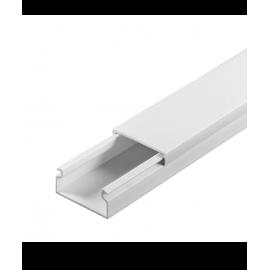 Πλαστικό Κανάλι κλειστού τύπου απλό 20X10