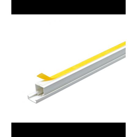 Κανάλι PVC με αυτοκόλλητο 12x12x2000mm
