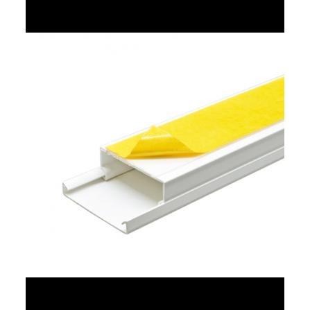 Κανάλι PVC με αυτοκόλλητο 40x16x2000mm