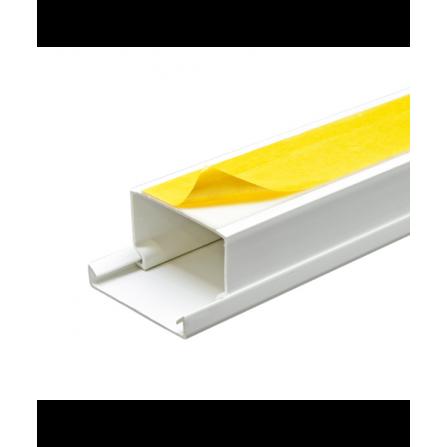Κανάλι PVC με αυτοκόλλητο 40x25x2000mm