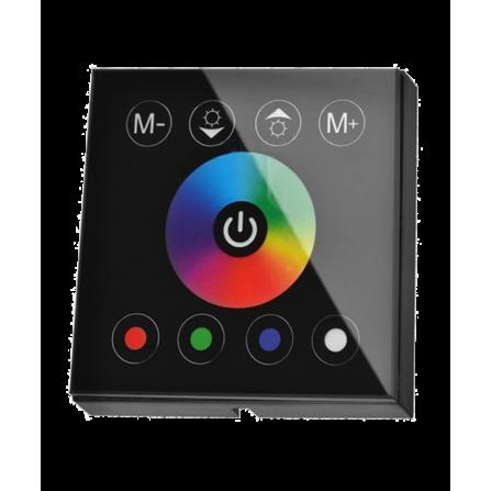 Controller - Dimmer Touch Χωνευτό 192W για ταινίες LED RGB 12V