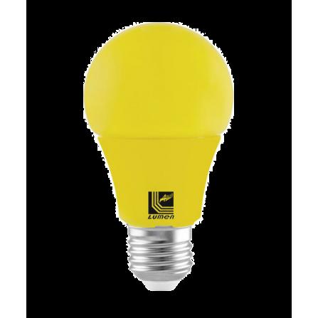 Λαμπτήρας LED ΕΝΤΟΜΟΑΠΩΘΗΤΙΚΟΣ E27 10W ΚΙΤΡΙΝΟ Α60 1000Lm