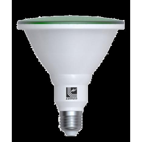 Λάμπα LED PAR38 E27 42VAC ΠΡΑΣΙΝΗ IP65 15W 1300Lm