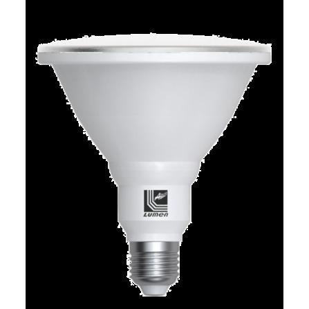 Λάμπα LED PAR38 E27 230V 3000K (ΘΕΡΜΟ) IP65 15W 1300Lm