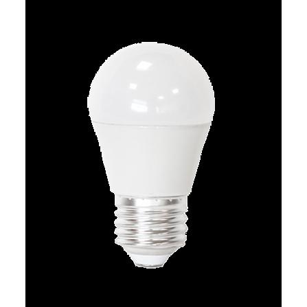 Λάμπα LED σφαιρική E27 5.5W 3000K (ΘΕΡΜΟ) G45 180o 460Lm
