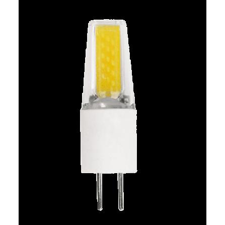 Λαμπτήρας LED G4 2W 4000K (ΦΩΣ ΗΜΕΡΑΣ) 12V 360o 200Lumens