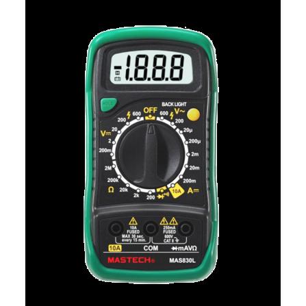 Ψηφιακό Πολύμετρο MASTECH MAS830L