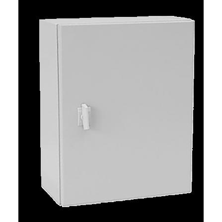 Μεταλλικό κιβώτιο πίνακας 100x60x20 στεγανό με πλάκα στήριξης και πόρτα