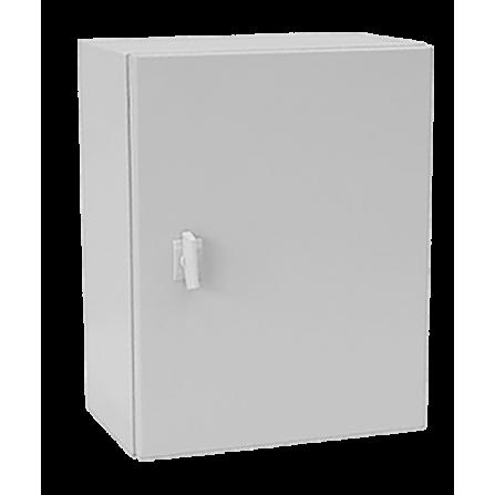 Μεταλλικό κιβώτιο πίνακας 100x60x25 στεγανό με πλάκα στήριξης και πόρτα