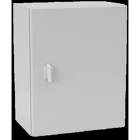 Μεταλλικό κιβώτιο πίνακας 120x80x30 στεγανό με πλάκα στήριξης και πόρτα