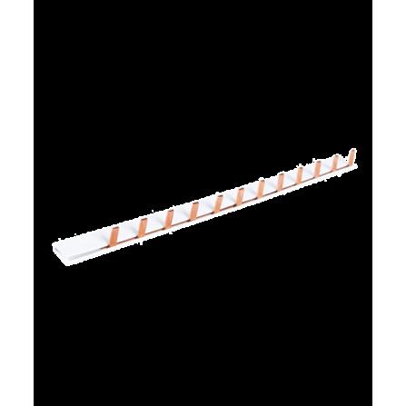 Γεφυρα χαλκου μονοφασική περονωτή τυπου L 12θ με μονωση 63A 10mm2