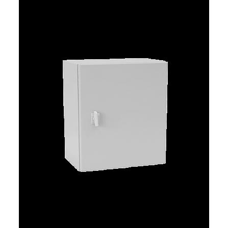 Μεταλλικό κιβώτιο πίνακας 30x30x15 στεγανό με πλάκα στήριξης και πόρτα