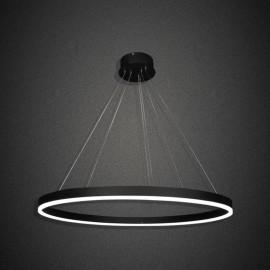 Κρεμαστό Φωτιστικό LED 50W Γκρι γραφίτης με 1 Δακτύλιο με 3 Αποχρώσεις (ΘΕΡΜΟ/ΦΩΣ ΗΜΕΡΑΣ/ΨΥΧΡΟ) Ντιμαριζόμενο
