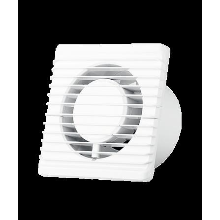 Εξαεριστήρας μπάνιου λευκός  Ø100 8W Εξαιρετικά Χαμηλού θορύβου 26dB 93m3/h