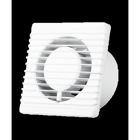 Εξαεριστήρας μπάνιου λευκός  Ø125 10W Εξαιρετικά Χαμηλού θορύβου 28dB 140m3/h