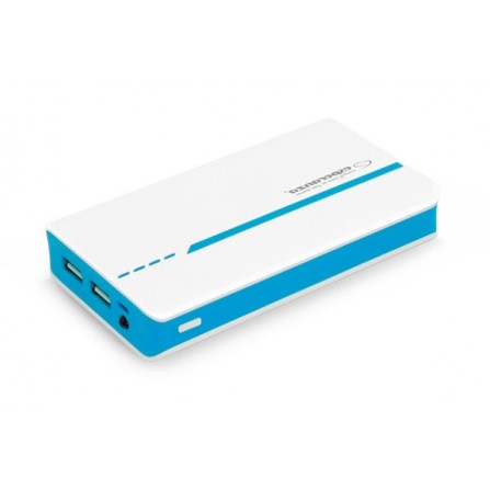Power Bank Esperanza Atom 11000mAh λευκό με μπλε