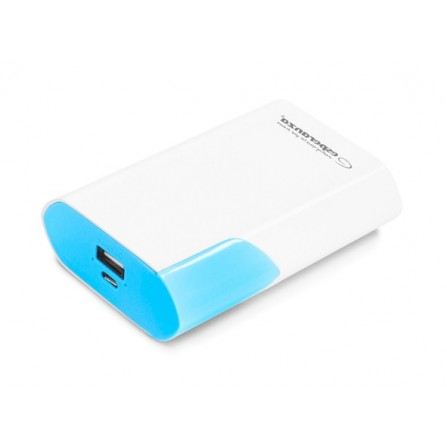 Power Bank Esperanza Boson 6000mAh λευκό με μπλε