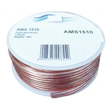 ESPERANZA audio media cable 2x1.5 ατερμάτιστο σε ρολό 10m